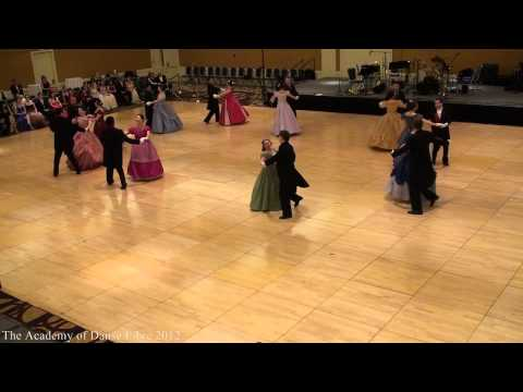 Danse Libre - Grand Polonaise at Stanford Viennese Ball 2012