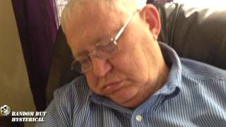 Funny Snoring (Fluttering Lips) Hilarious!!!