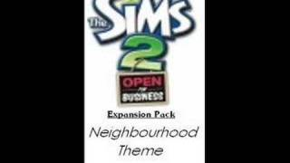 The Sims 2 Open For Business Neighbourhood Theme