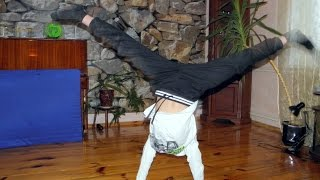 Как научиться делать колесо/ Гимнастика/ БОЕВОЙ КОСТЯН /How to learn to do a wheel / gymnastics