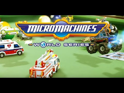 The Machines are taking over! (Micro Machines World Series Ep1)