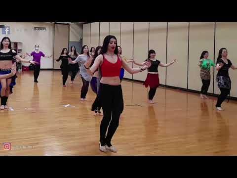 ALEX DELORA belly dance//technique class//TAIWAN 2018