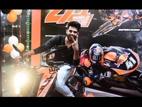 Launched the Ktm Duke 125 in Bhopal | India