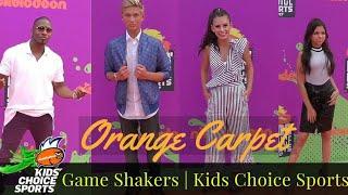 Game Shakers | Orange Carpet Kids Choice Sports 2017 Nickelodeon