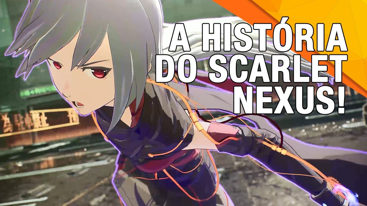 SCARLET NEXUS - Trailer da TGS 2020