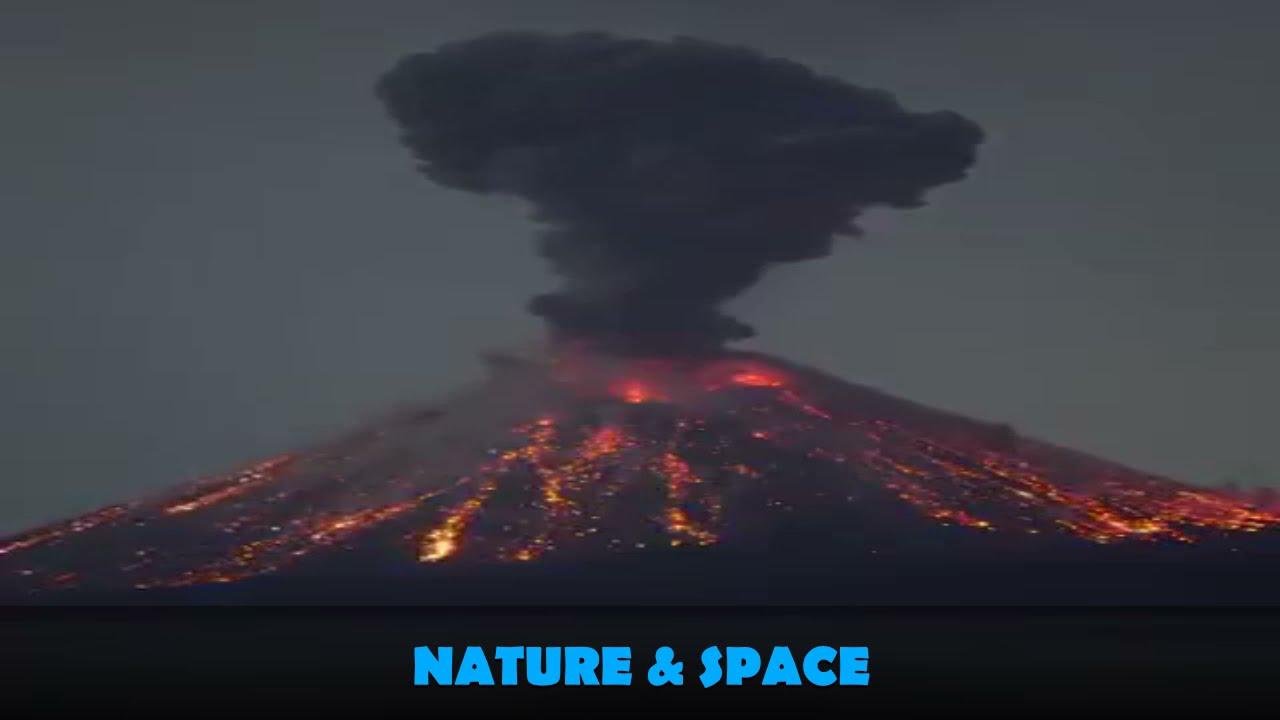 Download Volcanoes 🌋  Volcano Eruption Klyuchevskaya Sopka in Kamchatka  NATUREANDSPACE