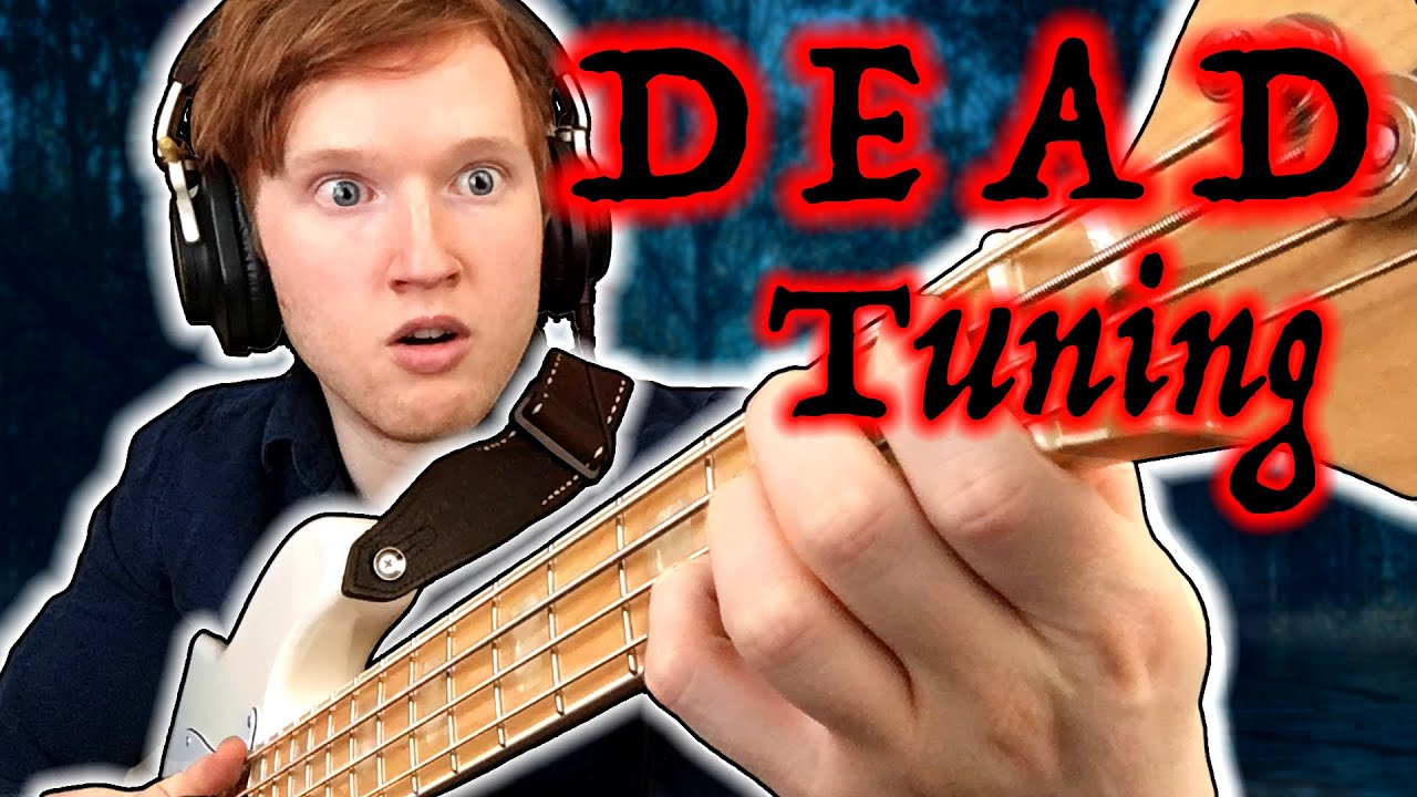 (35) BASS Solo In DEAD Tuning - YouTube