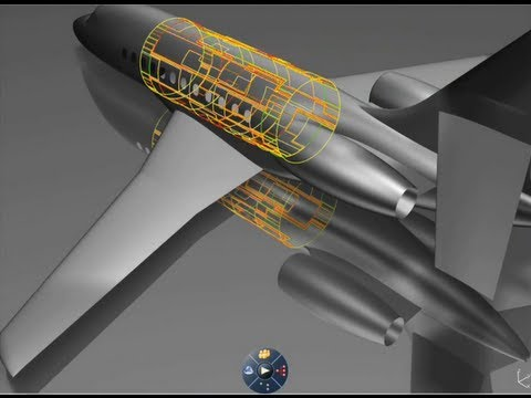 CATIA V6 | Composites | Aircraft structures Design to Manufacturing