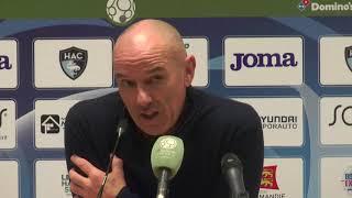 VIDEO: Après HAC - Guingamp (4-0), réaction de Paul Le Guen