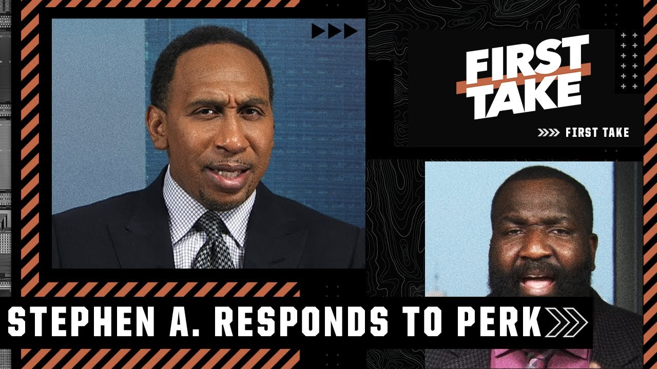 Download Stephen A. responds to Perk saying 'CP3 needs CPR' | First Take