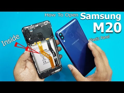 How to Open Samsung Galaxy M20 Back Panel    Samsung Galaxy M20 Disassembly / Teardown