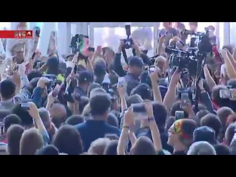 Salvador Sobral At The Airport