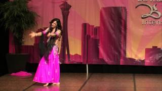 Sa'eeda at the 2014 Las Vegas Belly Dance Intensive