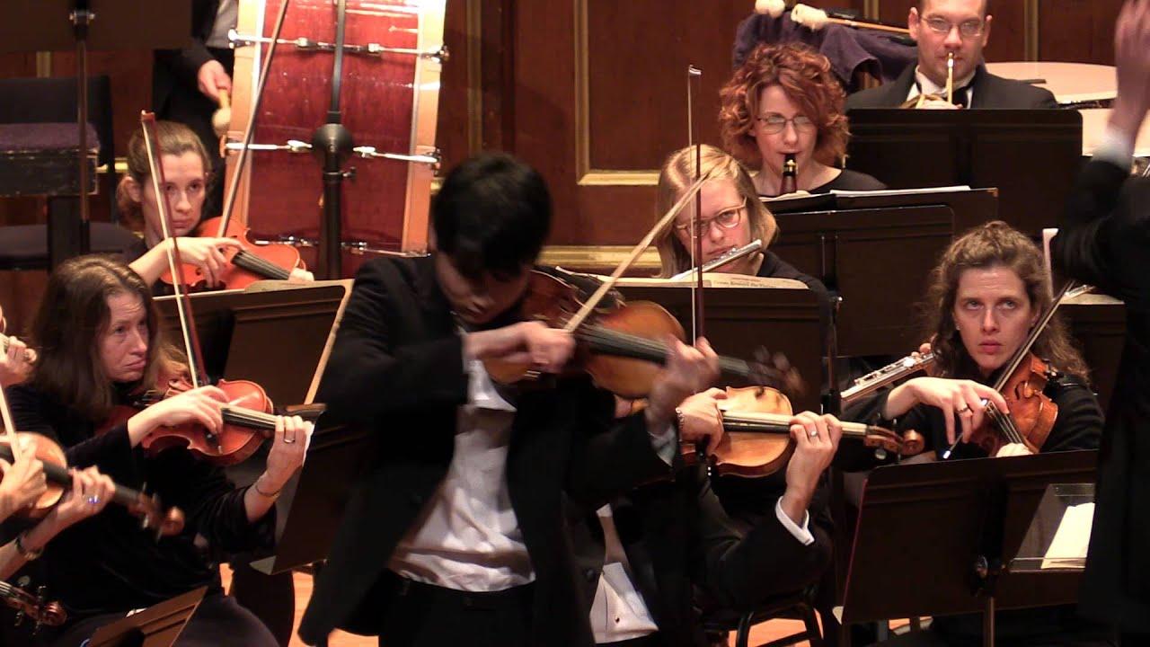 Paganini Violin Concerto No. 1 (encore: Paganini Caprice) In Mo ...