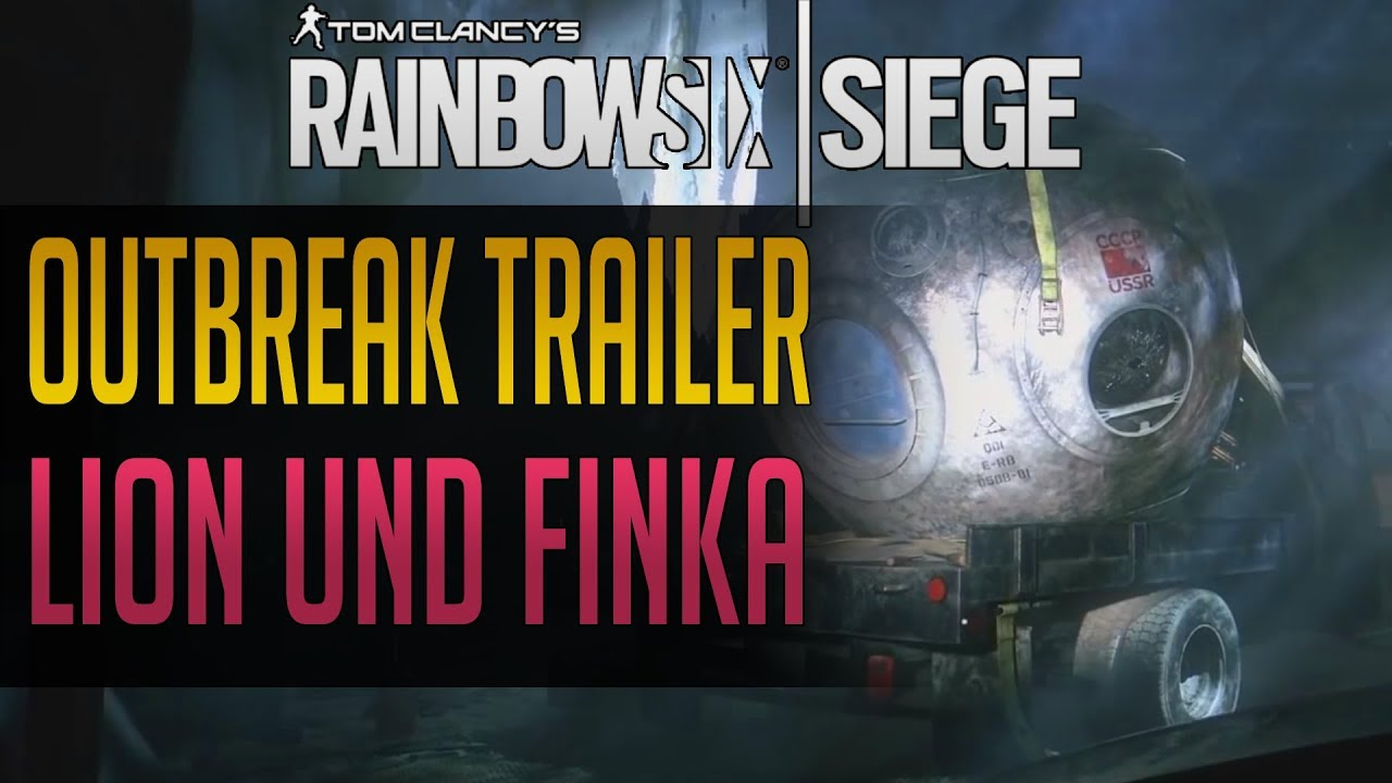 R6 siege lion | New Rainbow Six: Siege operators Finka and Lion