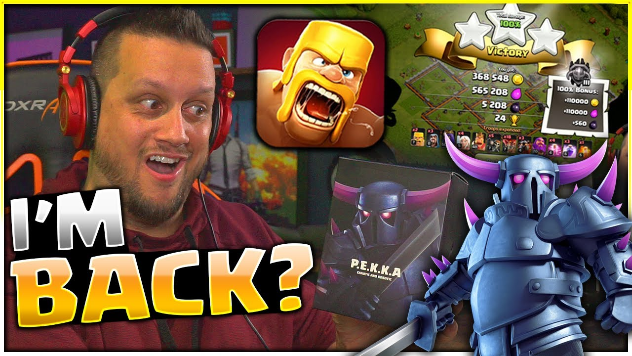 Powerbang Returns to CLASH OF CLANS?