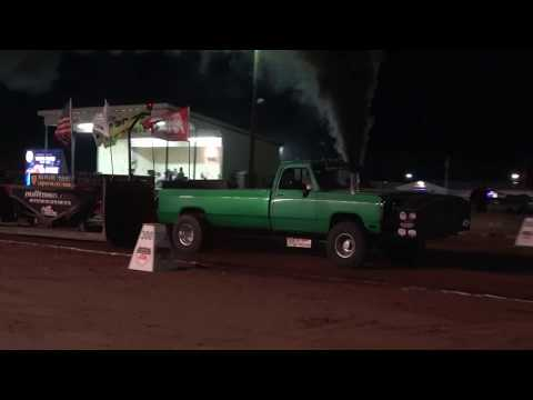 Sept 11 2017 Old Washington OH NTPA Limited Pro Diesel Trucks