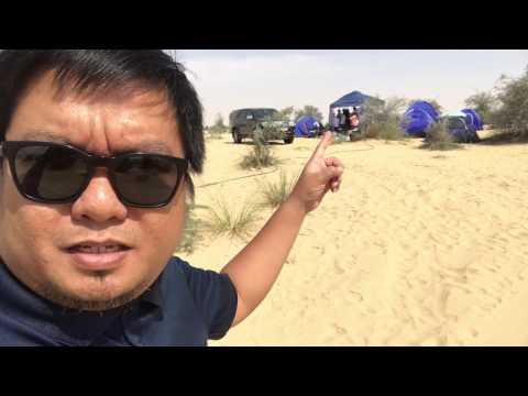 The Best Camping Site In Dubai, The Al Qudra Lakes