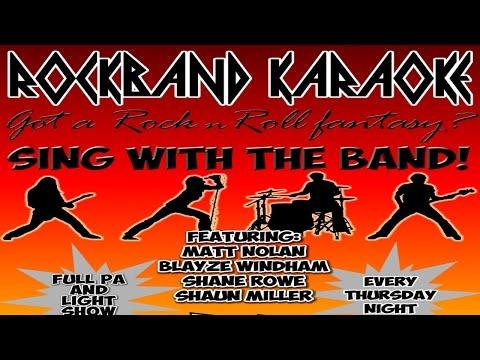 "Rock Band Karaoke ""Honky Tonk Women"""