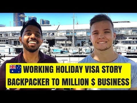 Australian Working Holiday Visa To Million Dollar Business🤑 | How Leon Went From Backpacker to Boss