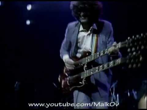 Jimmy Page Solo - Stairway To Heaven (ARMS Concert 1983)