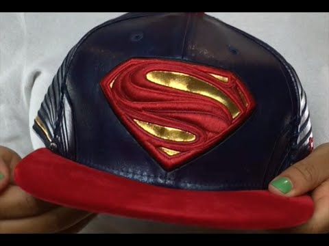 Superman  CHARACTER ARMOR  Fitted Hat by New Era - YouTube 3520f5f77bf