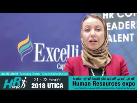 Interview de Mme Inès BOUHARB - Managing Director Excellia Capital Humain pendant HR expo 2018