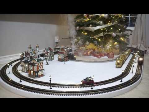 Lionel O and S scale Polar Express Christmas 2016