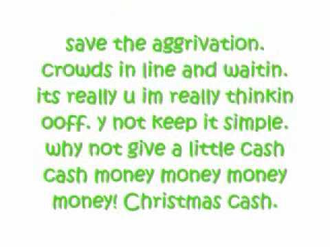 Fred- Christmas Cash Lyrics