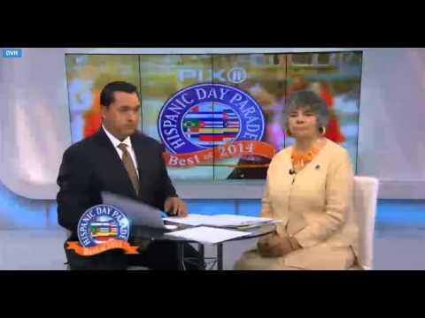 Hispanic Day Parade 2014. Highlights