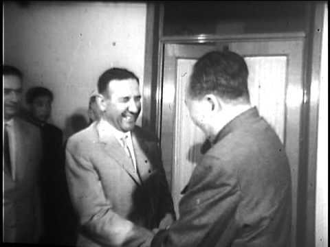 Mao Tse-Tung Meets with the Albanians