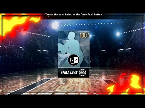 100+ PLATINUM PACK OPENING!+ CLAIMING MY AUCTIONS!! NBA LIVE MOBILE NO MONEY SPENT