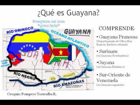 Lo que es GUAYANA y lo que es GUYANA (importante no confundir).