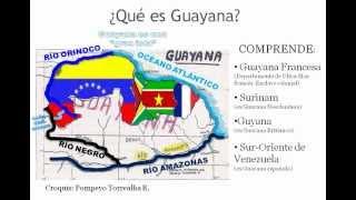 Lo que es GUAYANA y lo que es GUYANA (importante no confundir).