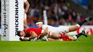 England v Wales - Match Highlights & Tries