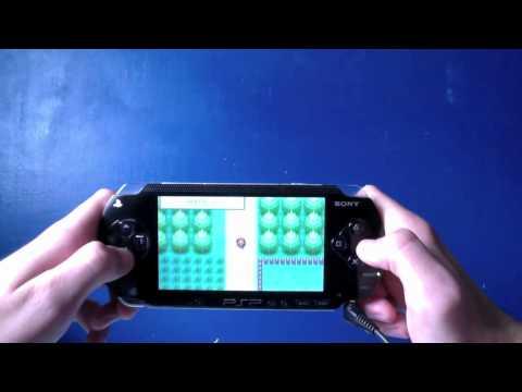 Pokemon Fire Red On PSP - HD