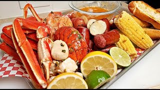 HOW TO MAKE A SEAFOOD BOIL | How to Cook A Seafood Boil Step by Step | ONE POT SEAFOOD BOIL