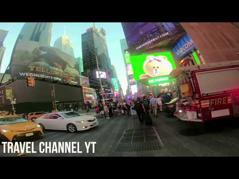 ⁴ᴷ⁶⁰ Walking in Times Square, 🏰🗼🏫🏣 Super Heroes, 🏰 Costume in the Time Square New York City NYC