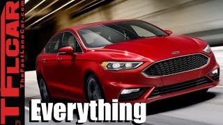 2017 Ford Fusion & EcoBoost AWD Fusion Sport: Everything You Ever Wanted To Know