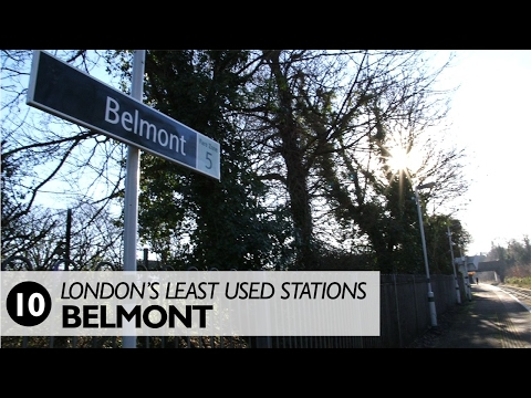 London's Least Used Stations: Number 10 - Belmont