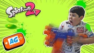Bigmanu Juega Splatoon 2 Palizon en Nintendo Switch