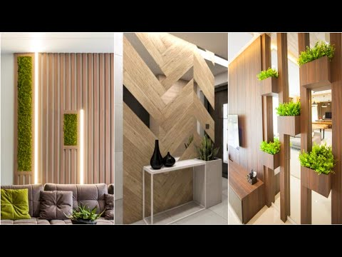 100 Wooden Wall Decorating Ideas 2021 | Living Room Wall Design Ideas | Wall Cladding Decoration