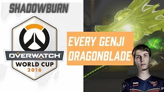 ShaDowBurn Unleashes The Dragon Blade | Overwatch World Cup 2016