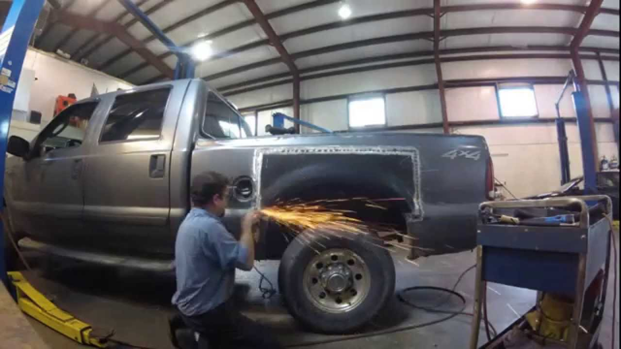 Rusted Ford Bed Repair Youtube