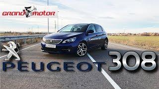 2017 Peugeot 308 | Prueba / Análisis / Test / Review / Revisión Español GrandMotor