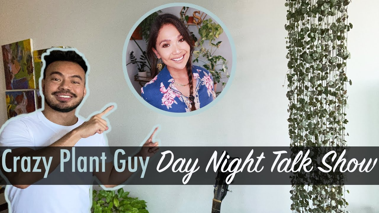 Crazy Plant Guy Talk Show - Ep1 | Plant Shopping, Houseplant Crush, Show and Tell and Lots of Laughs