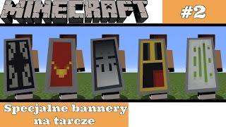 Minecraft : 5 Specjalnych Bannerów Na Tarcze #2