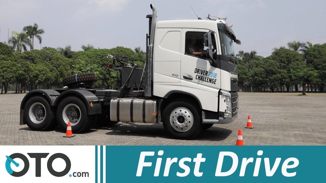 2018 Volvo Truck >> Volvo Truck Fh16 First Drive Menjajal Truk Bermesin 16 000 Cc Oto Com