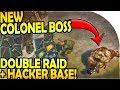 NEW COLONEL BOSS + STUN- DOUBLE RAID (HACKER BASE RAIDING) - Last Day on Earth Survival Update 1.9.8