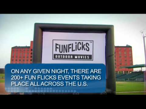 Funflicks Outdoor Movies See Us On American Airlines